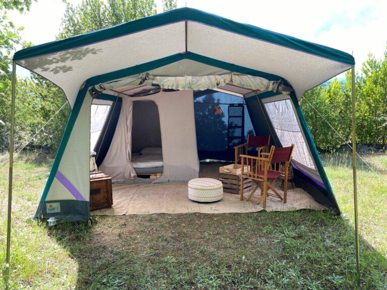 Une tente tout confort